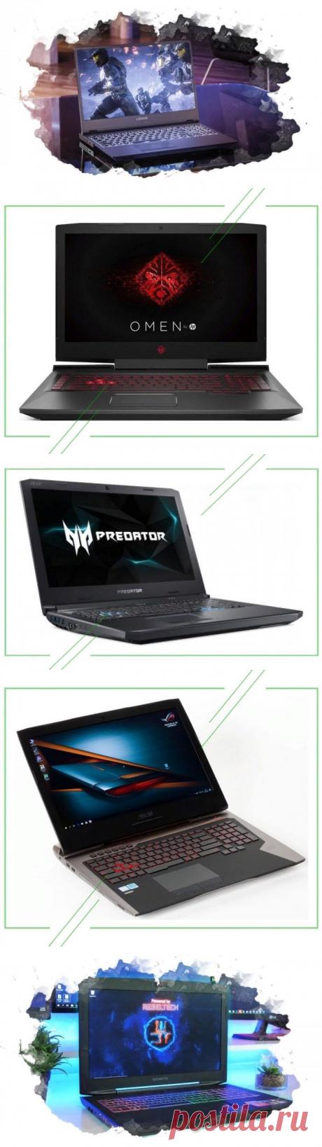 ТОП-7 лучших игровых ноутбуков