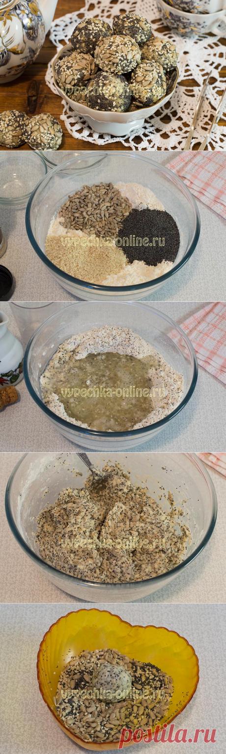 ✔️Рецепт веганского печенья – постная выпечка с семечками