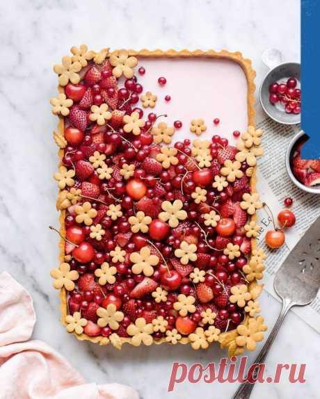 Пирог — настоящий шедевр!