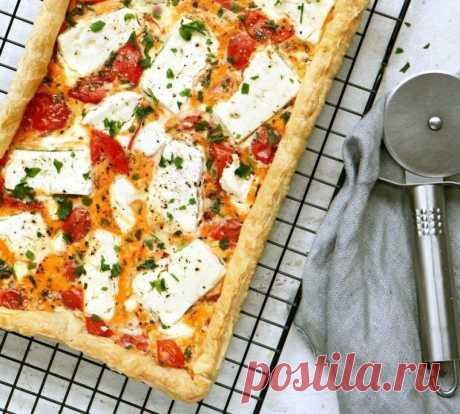 Пирог с помидорами и сыром фета — Sloosh – кулинарные рецепты