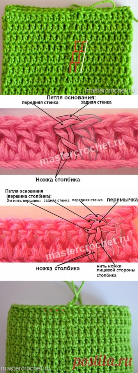 """Уроки мастерства - крючок - Круговое вязание крючком - Чтобы """"шов"""" не косил"""