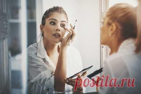 Пять ошибок при макияже глаз, которые мы совершаем каждый день . Милая Я