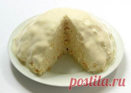 Сливочное наслаждение: рецепт воздушного тортика за 20 минут