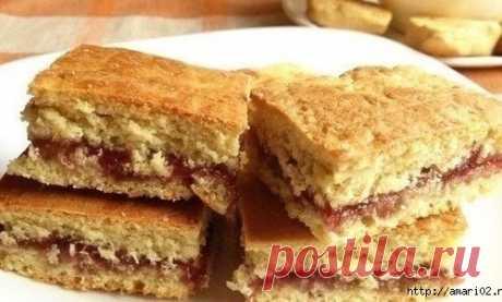 Утилизируем старый кефир - готовим вкусное печенье на кефире с начинкой из любимого варенья