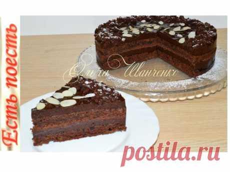 Шоколадный постный торт с черносливовым кремом | Есть поесть с Ольгой Иванченко | Яндекс Дзен