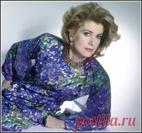 Catherine Deneuve at 42, photo by Horst P. Horst, 1985