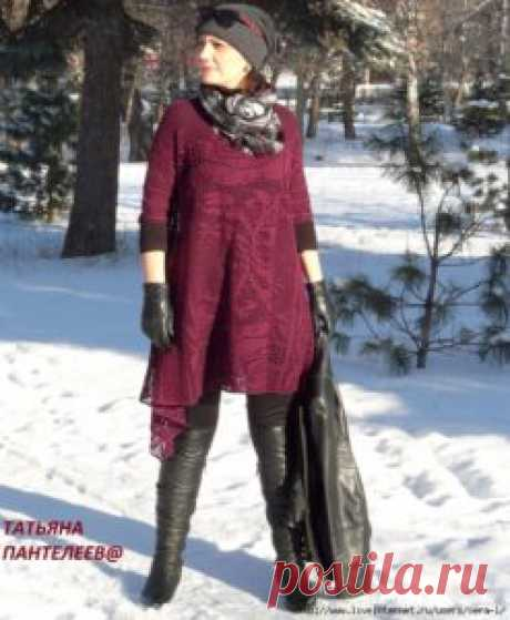 Tığ İşi Dantel Elbise Yapılışı - Mimuu.com