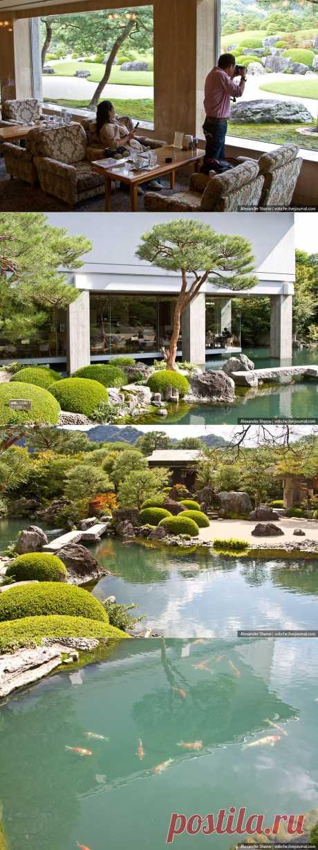» Сад Адачи, Япония Это интересно!