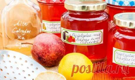 Как приготовить яблочный джем на зиму - К столу - Krasotka