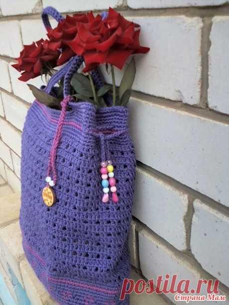 вязаные сумки-авоськи - Вязание - Страна Мам