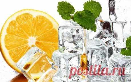 Cosmetic ice