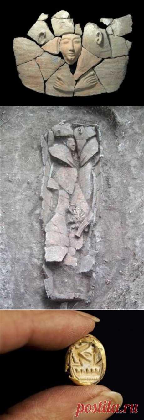 """Необычный саркофаг обнаружен в Израиле   """"Secret worlds"""""""