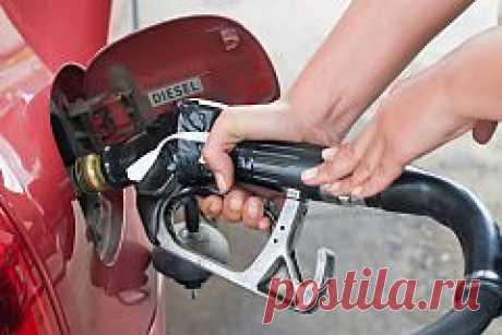 Как экономить на бензине?   Деньги