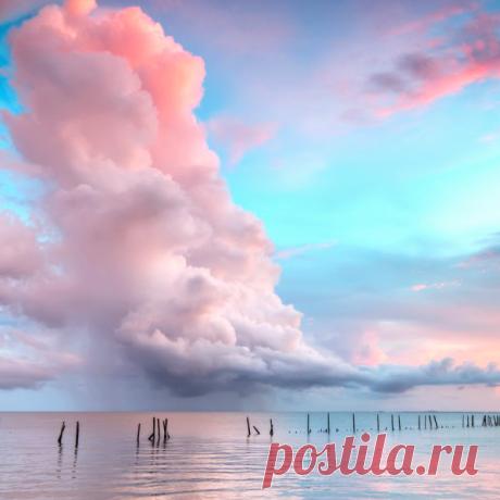 морские облака