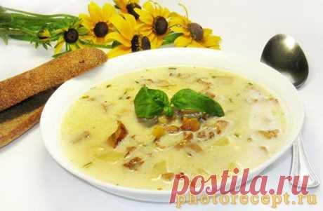 Сырный суп - легкий, необыкновенно вкусный!
