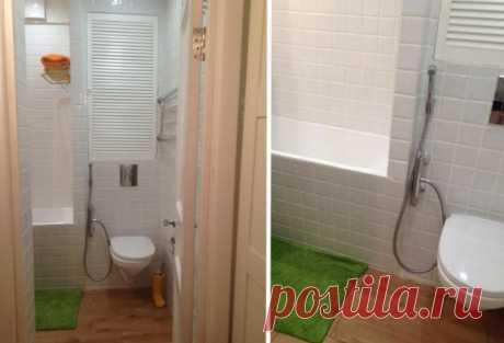 Примеры крошечных ванных комнат с грамотными дизайном | Роскошь и уют