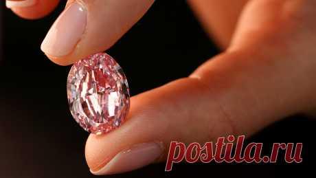 В Женеве с молотка ушел «Призрак розы» — крупнейший розовый бриллиант, добытый в России - Газета.Ru