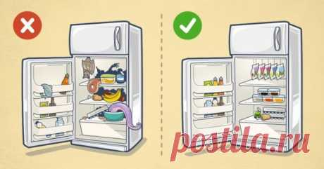 9 идей, как навести порядок в холодильнике надолго | Болтай
