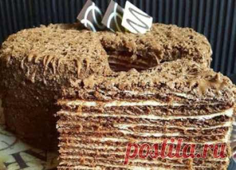 Кулинарная книга: Итальянский ореховый торт просто сводит с ума. Настолько он вкусный и нежный