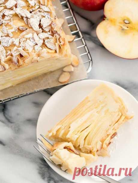 """Попробовала во Франции """"невидимый"""" пирог из яблок и теперь пеку только его: такого нежного десерта я еще не ела"""