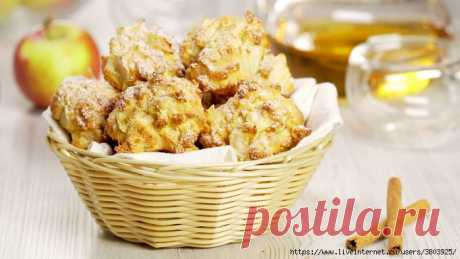 """Печенье """"Яблочная шарлотка"""" (ничем не хуже яблочного пирога и шарлотки)"""
