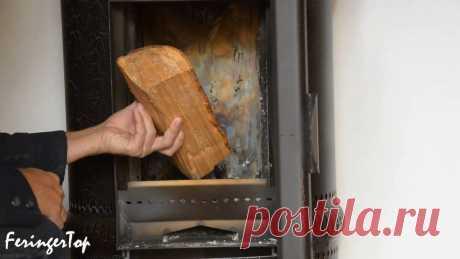 Как выжать максимум из охапки дров. Показываю простой способ увеличения эффективности дровяной печи | Баня на 5+ | Яндекс Дзен