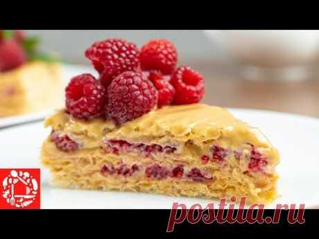 Без духовки и печенья! Остановится НЕВОЗМОЖНО! Обалденный вафельный торт «Андруты»