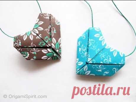 Поделки сделать просто прекрасный оригами сердца