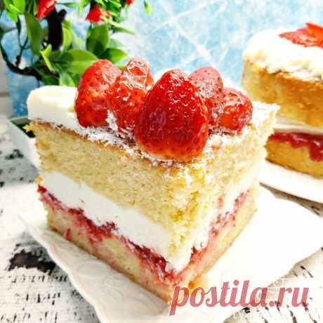 Бисквит Королевы Виктории: рецепт торта пошагово с фото