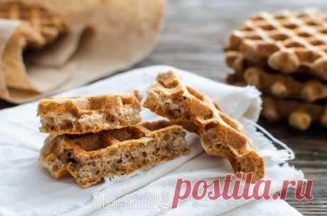 Ржаные хлебцы в вафельнице • Жизнь - вкусная! Кулинарный сайт Галины Артеменко