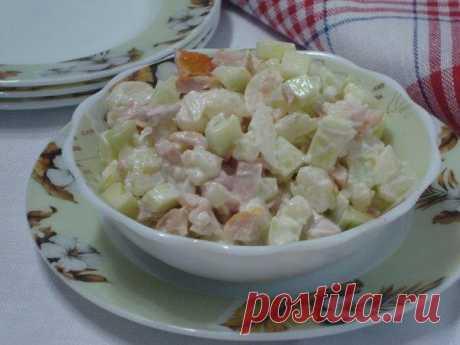 Салат из цветной капусты.