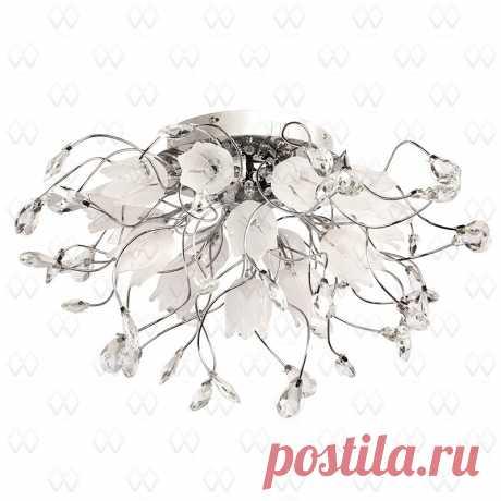 Потолочная люстра MW Light Подснежник 294014416 купить в Омске. Интернет магазин «Маркет-Света»