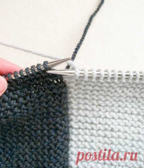 Knitting in equipment of an intarsia is Verena.ru