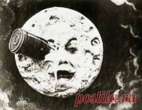 Сегодня 02 мая в 1902 году Во Франции на экраны вышел первый в мире научно-фантастический фильм «Путешествие на Луну»