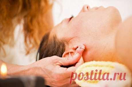 El masaje de las orejas
