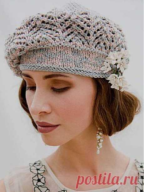 Albero 'Odette' Beret | Knitting Fever