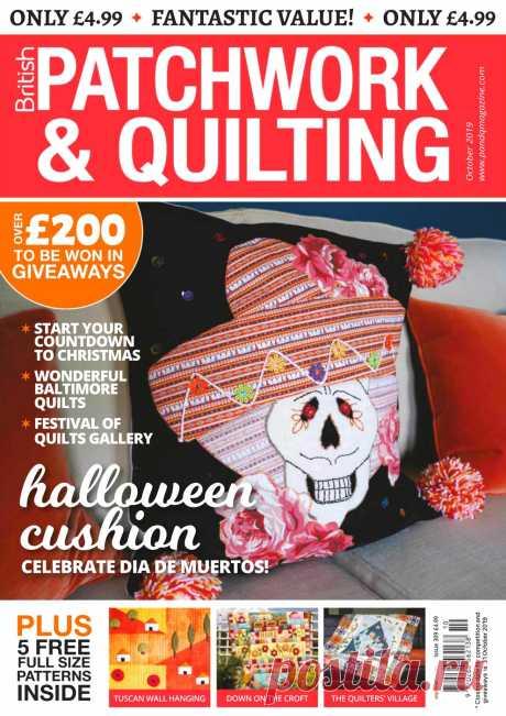 Patchwork & Quilting - October 2019