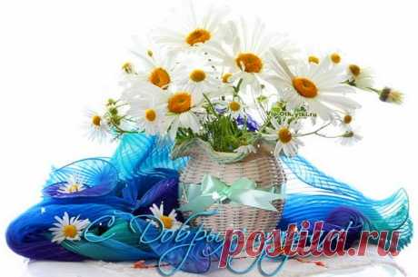 Новое утро, хорошего дня Счастья, солнца и тепла желаю моим родным, подругам, одноклассникам, друзьям с самого утра! Пусть сияющее утро только радость принесет, все дела решатся шустро и удача расцветет!  *  *  *  *  *  Скопируйте ссылку и Отправьте бесплатно родным, подругам и друзьям! Музыкальная открытка: Новое утро, хорошего дня Присоединяйтесь в нашу...
