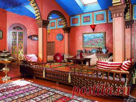 Марокканский стиль в современном интерьере | Средиземноморская архитектура в Испании, Греции, Марокко, Египте / Mediterranean architecture and design