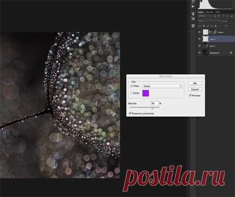 Как создать изображение с красивым боке