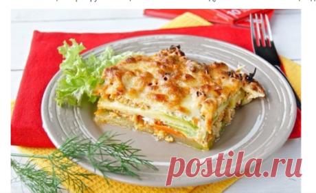 Лазанья из кабачков: супер-полезный ужин! | Худей вкусно