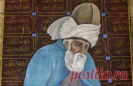 Dzhalaladdin Rumi: la poesía y la sabiduría fuera del tiempo lo que le parece a la persona regular la piedra, para que sabe es la perla.