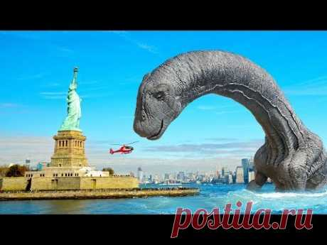 Динозавры могут возродиться в ближайшем будущем - YouTube