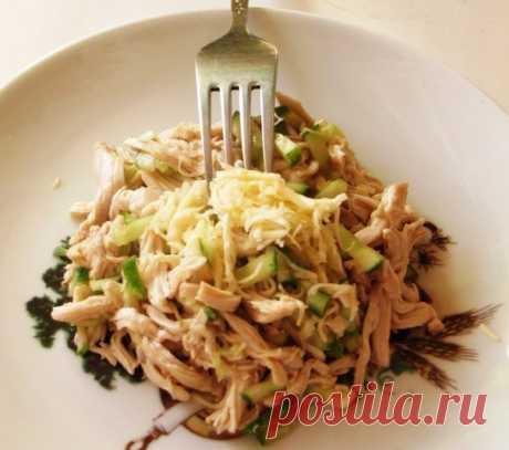 Азиатский куриный салат — фигура не пострадает, а вы будете довольны этим вкусом!