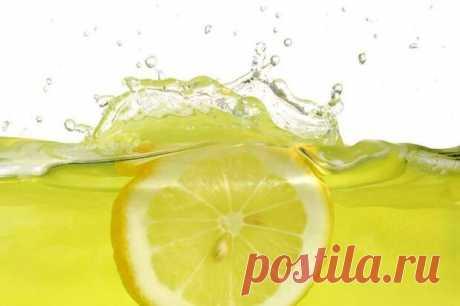 Для чего пьют воду с лимонным соком — Делимся советами