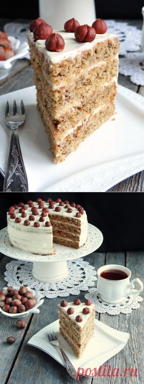 Ореховый торт «Каргопольский»