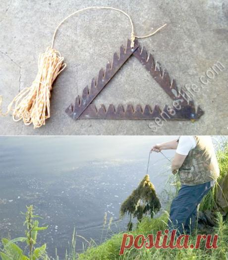 Донная коса для рыбалки