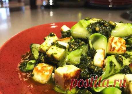 (11) Папарделле из цукини, соусом песто - пошаговый рецепт с фото. Автор рецепта logunov_head_chef . - Cookpad