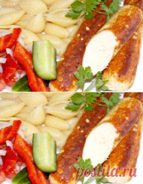 Домашние куриные сосиски | Вкусный день