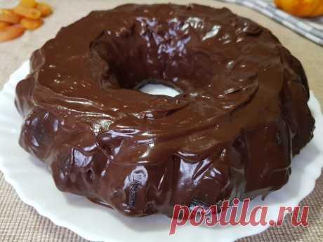 Шоколадный пирог на кипятке. Мягкий, влажный и безумно вкусный | Вкусно Просто Быстро | Яндекс Дзен